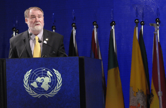 ICLEI at UN MeetingsFormer ICLEI President David Cadman urges the global sustainability community to recognize the role of cities in sustainable development.